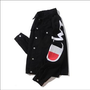 Champions Jeans da uomo Giacche New jean Capispalla Cappotti Designer Giacca di jeans Giacca di jeans Donna Casual Giacca Outdoor Veste en jean