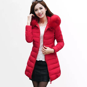 Women 'S Winter Jacket New Womens Winter Jackets Coats Female Padded Parkas Fashion Thick Warm Hooded Down Cotton Coat