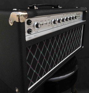 Grand Valve Hand-wired ODS100 Overdrive Special Guitar Amplifier Head 100W in Black Custom Logo and Faceplate is Available free shipping