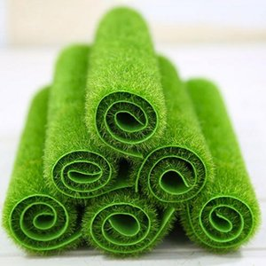 Innovative Micro Landscape Artificial Grass Landscape Home Accessory Aquarium Decoration Artificial Lawn Garden Real Touch Moss