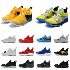 Mens New Arrivée Combat Actual Version PG 2.5 PlayStation Taurus Road Master Basketball Chaussures PG2.5 PS Designer Baskets Taille 40-46