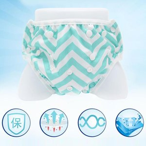 Toddler Briefs Training Swimming Diaper Leakproof Reusable Adjustable Nappy Swimwear Swimsuit Baby Swim Trunks
