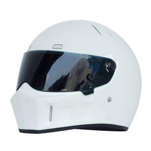 Man Full Face Motorradhelm Motocicleta Casco Motocross Racing Helme Karthelm Stig Car Auto Racing Helm Dot Approved S-XXL