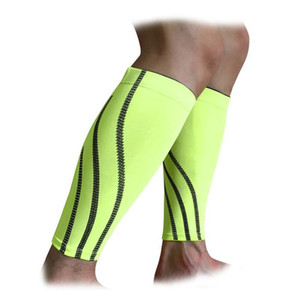 Deportes al aire libre Brace Brace Support Protector Running Leg Sleeve Compression Leg Care para hombres HX03