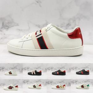 2018 New Ace Sneakers Bee Lâmina amei Tripler preto branco dos homens sapatos para plataforma Homens Sports couro Womens Casual Tamanho da sapatilha Formadores 44