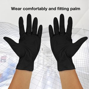100pcs Disposable Latex Gloves Anti-Static Powder-Free Nitrile Gloves Nontoxic Hand Protector Isolation Protective Gloves News