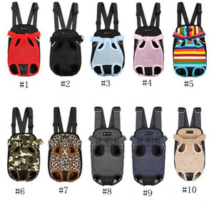 Brand Dog Carriers Pet Cucciolo Carrier Travel Dog Bag Carry Backpack Traspibile Borse per animali domestici Borse Hammock 12 Designs LQPYW1215