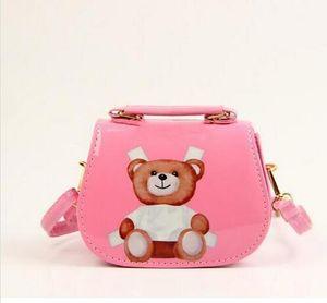 Designer Kids Jelly Messenger Bag Stilvolle Baby-Schultertasche Kleinkind-Geldbeutel-Mädchen Mini-Süßigkeit-Farben-Beutel-Baby-Taschen