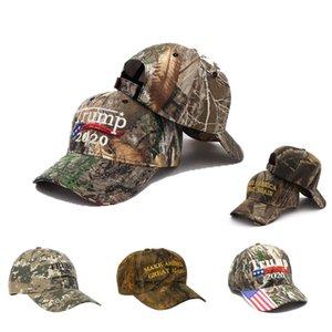 2020 Projeto Verão chapéu militar de camuflagem Hats Army Men DO Cap Trump fazer América Great Again Bordado Gorra Snapback Cap VLqmm