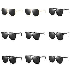 2020 nuova retro annata rotonde polarizzati punk Steampunk occhiali da sole per gli uomini Pelle Laterale Maschile Occhiali da Sole PL1122 T200108 # 759