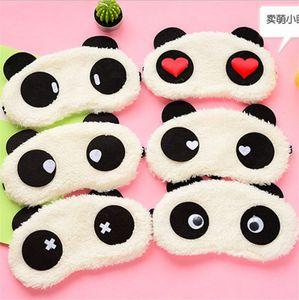 Algodão Panda Goggles Sono Máscara Sombreamento Umidade Remover Círculos Escuros Olho Dos Desenhos Animados óculos de Melhorar A Qualidade Do Sono Umidade Olhos ST444