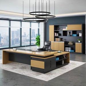 Moderno personalizado MDF Pintura de MDF de CUERDO CA CEO Gerente de CEO Ejecutivo Ejecutivo Oficina de madera Muebles de oficina