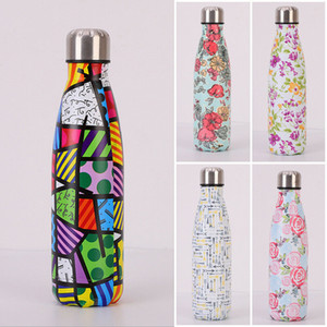 Stainless Steel Vacuum Insulated Water Bottle Flask Thermal Sports Chilly 500ML Outdoor Sports Camping Hiking Cycling