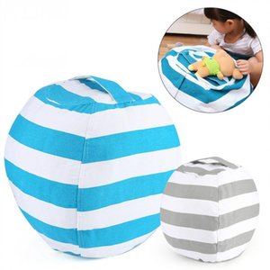 Stuffed Animal Storage Bean Bag Chair Portable Kids Toy Storage Bag And Play Mat Home Furniture and Accessories GT90