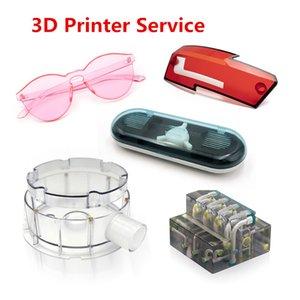 3d printing service custom transparent prototype model VeroClear photosensitive resin full transparent color matte
