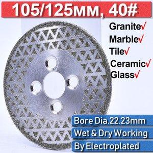 Blade Disc 22.23mm Porcelain Tile Saw Angle Grinder Grinding Thin 125mm Dry 105mm Diamond Disc Tile Granite Marble Wheel Tools