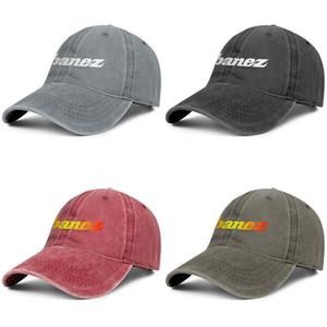 Ibanez logo sign Unisex denim baseball cap golf fitted custom uniquel hats Guitars Guitar Logo Font