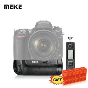 MK-DR750 Multi-Power Battery Grip Pack With Wireless Remote Control For Nikon D750