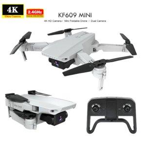 2020 New KF609 HD Drone 4K Single Camera 720P WIFI FPV Mini Drones 2.4G KF609 Dual Camera optical flow RC Quad copter