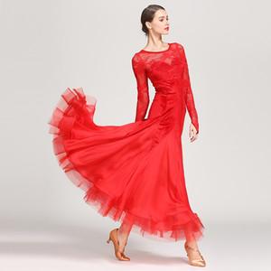 black standard ballroom dancewear women waltz dress fringe Dance wear ballroom dance competition dress rumba costumes flamenco dress