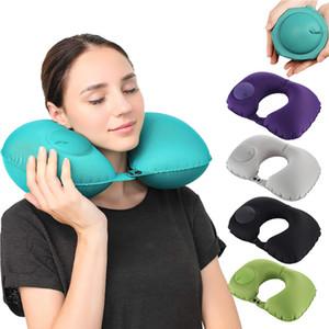 U-образная автоматическая надувная подушка для дома подушка для шеи подушка для отдыха надувные подушки подушка для шеи складной пресс-подушки Хаммо