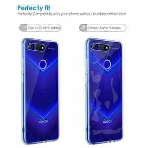 Hot Sale Case For Huawei honor transparent protective cover 20 Pro 20i V20 note 10 9 Lite 8x Max play tpu case free shipping