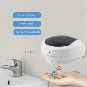 Jabón Sensor dispensador automático de ABS jabón líquido Dispensers 500ml Sensor dosificador montado en pared 1pcs dispensador de jabón CCA12208
