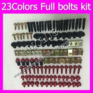 Fairing screws Full bolts kit For HONDA VTR1000 00 01 02 03 04 05 06 RC51 SP1 SP2 VTR 1000 2000 2006 MC133 OEM Body Nuts bolt screw Nut kit