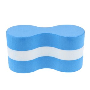 Sommer-Kind Erwachsene Pool Swimming Foam Pull Buoy Float Safety Training Aid Blau Weiß Schaum Pull Buoy Kickboard Zurück Float