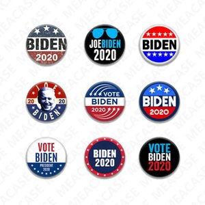 18 Styles Joe Biden Brooch 2020 US Presidential Election Biden Badge Tinplate Election Badges BIDEN Vote Brooch Pin Party Favors New D7204