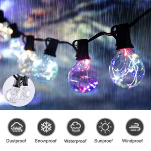 Global Light String 33FT G40 UL Wasserdichte Outdoor-String Weihnachten Hochzeit Garten Party LED Ambient Light String