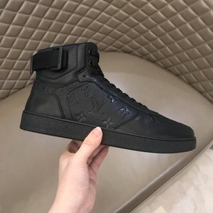 Consegna veloce Rivoli Sneaker Boot uomini '; S pattini ambulanti all'aperto scarpe leggere Vintage Leather Men Casual Lace -Up Shoes Chunky Snek