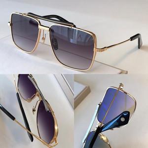Popolare alluminio Occhiali da sole polarizzati TYPE403 progettista degli uomini Retro Gold Frame Piazza moda d'avanguardia di stile superiore UV 400 Lens Eyewear