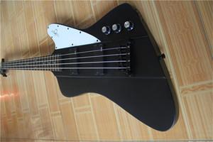 frete grátis trovão baixo fogo 4 cordas, guitarra marca black bass, corpo basswood, pau-rosa fretboard 22 traste, pickboard branco