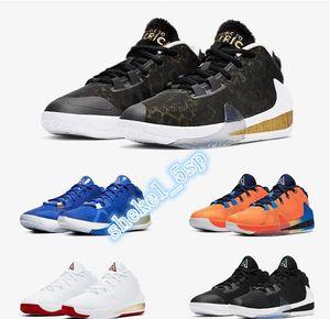 Giannis Antetokounmpo Nike Zoom Freak 1 FIBA Greece Orange Coming to America Signature Basketball Shoes Sport Designer Sneakers Size Eur36-46