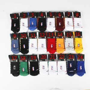 19 New Elite Chaussettes épaissie moyen Tube amortisseur de choc Sweat serviette Bas Elite Basketball Formation professionnelle Chaussettes de sport
