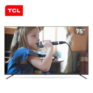 TCL 75 pollici AI intelligente stelle TV a schermo piatto intero ecologia HDR Ultra HD 4K TV Q motore di foto hot nuovo prodotto di trasporto libero.