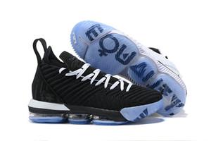 2019 THRU LMTD débutant OREO FRESH BRED Ce qu'est le XVI 16 James Chaussures de basket multicolores LeBRon 16 ans Wolf Gris Sports