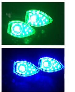 Новые аксессуары для ремонта мотоциклов Сборка указателей поворота Светодиодное освещение мотоциклов Refit 12V Включение света указателей поворота