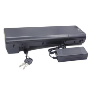 AB ABD YOK VERGISI Ucuz fiyat elektrikli bisiklet bagaj taşıyıcı piller 250 W 36 V 10Ah arka raf ebike pil paketi ile 42 V 2a Şarj