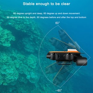 GeneinnoTitan UAV Underwater Aerial Photography Robot Supports VR Intelligent 4K Camera Dive Shooting Search and Rescue