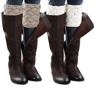 1 par Mulheres Menina sobre o joelho Quente alta Meias Primavera Outono Inverno malha macia Coxa alta longo meias meias soltas