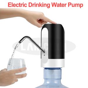 Otomatik Su Pompası İçin Çift USB Şarj Şişe Motorlu Elektrikli Biberon Dağıtıcı Su Pompası El Pompası Şişelenmiş İçme Suyu İçin