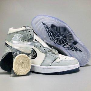 High Top Low Dior Converse Nike Air Jordan 1 AJ1 Oblique Slides Racer Zoom R2T B23 Kim Jones Designer Luxury Hommes Femme Basketball Women Men Sneakers Sports Running Shoes 36-46
