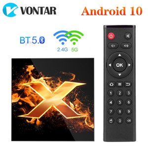 X1 Andriod 10 TV Box Allwinner H616 Quad Core 2.4G&5G Dual wifi 4K 60fps BT5.0 Netflix Youtube Media Player