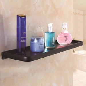 Bathroom Shelf Aluminum Shower Shampoo Soap Cosmetic Shelf Bathroom Storage Organizer Rack Lavatory Corner Toilet