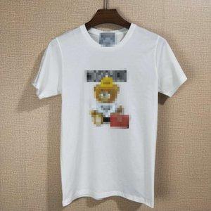 Venta caliente para hombre de las camisetas del diseñador de moda de verano para hombre Top para mujer de las camisetas de manga corta de la marca HipHop camisetas Imprimir con paneles Streetwears 2051104H
