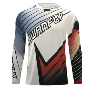 CWF Motocross jersey hombre dh downhill jersey off road Mountain long sleeve mtb