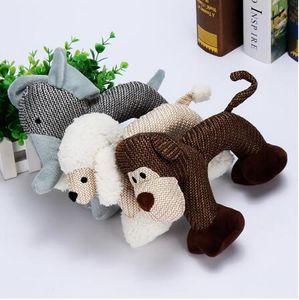 Cão Mastigar Brinquedos para Pequenos Cães Grandes Mordida Cão Resistente Squeaky Duck Brinquedos Interativos Squeak Puppy Toy Dog Animais de Estimação Suprimentos GB997
