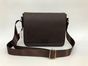 2019 nova moda clássico homens mensageiro sacos mochila corpo cruz mochila deve 41213 com saco de poeira